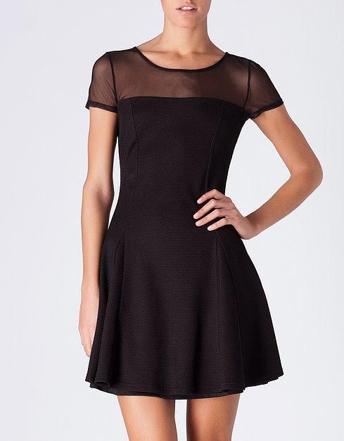 vestidos negros para navidad