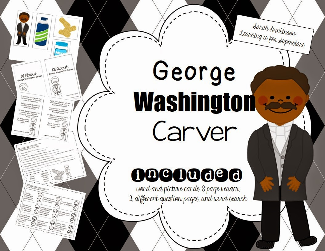 George washington carver crafts - In Virginia Our Social Studies Curriculum Has Us Teaching George Washington Carver In Our Famous American Unit Here S Some Of The Pages I Just Finished