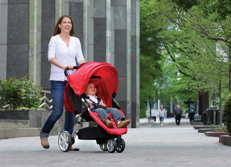 Strong Stroller Specially Made To Be Used For Physical Exercise
