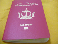 Brunei national passport.