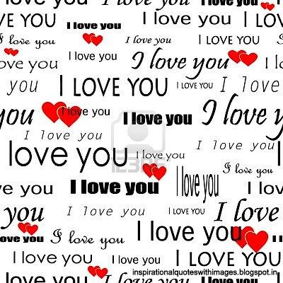 love hearts i love you