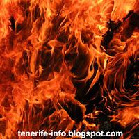 incendie a tenerife