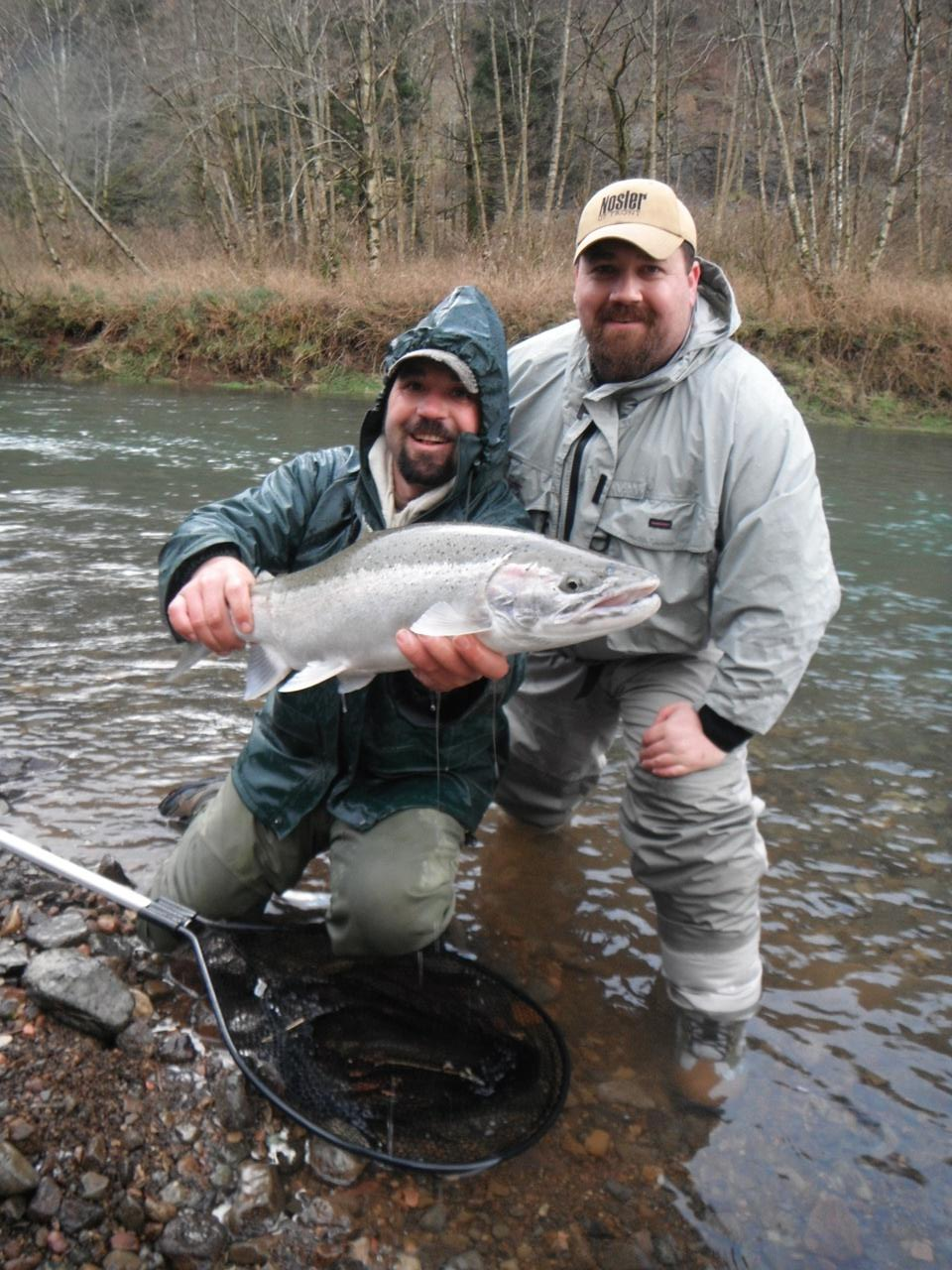 Fly fish oregon water time report oregon winter steelhead for Oregon steelhead fishing