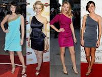 Tek omuzlu elbise modelleri 2012