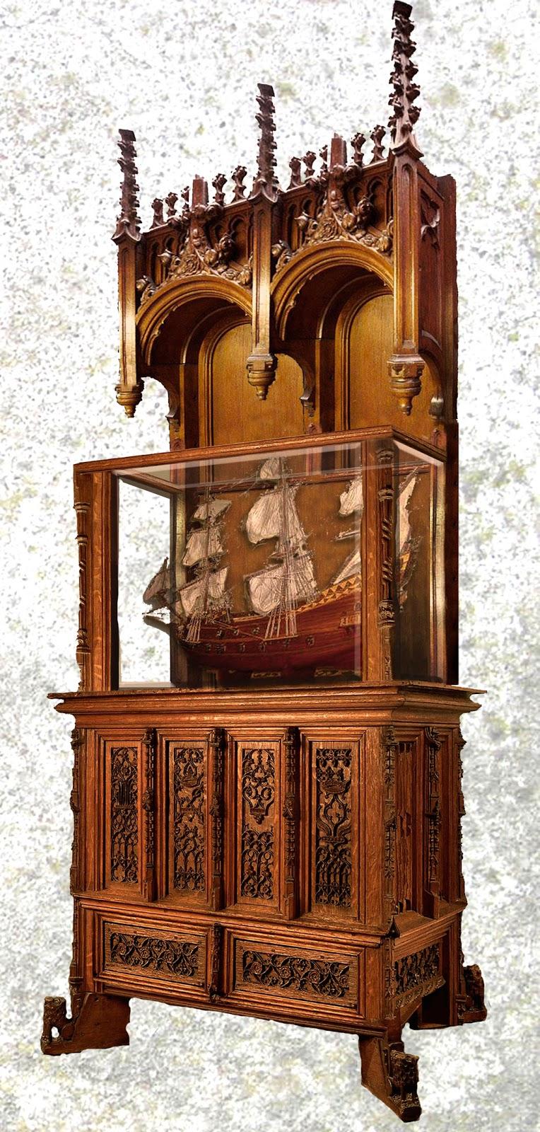 Мебель в средневековом стиле своими руками 69