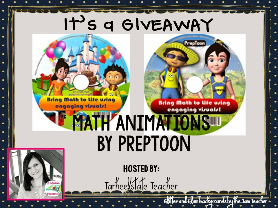 Life, Love, Literacy: ~*GIVEAWAY*~PREP TOON Math Resources