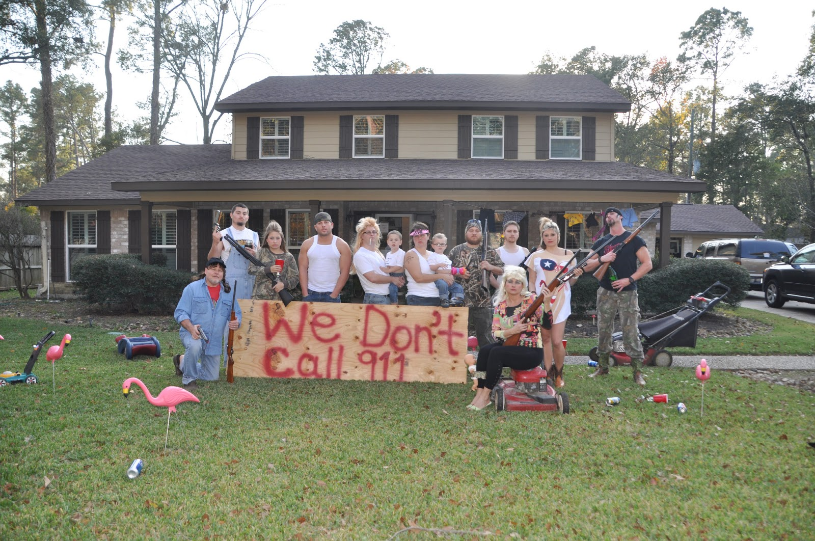 Redneck Christmas Party Ideas Part - 34: Our Redneck Christmas