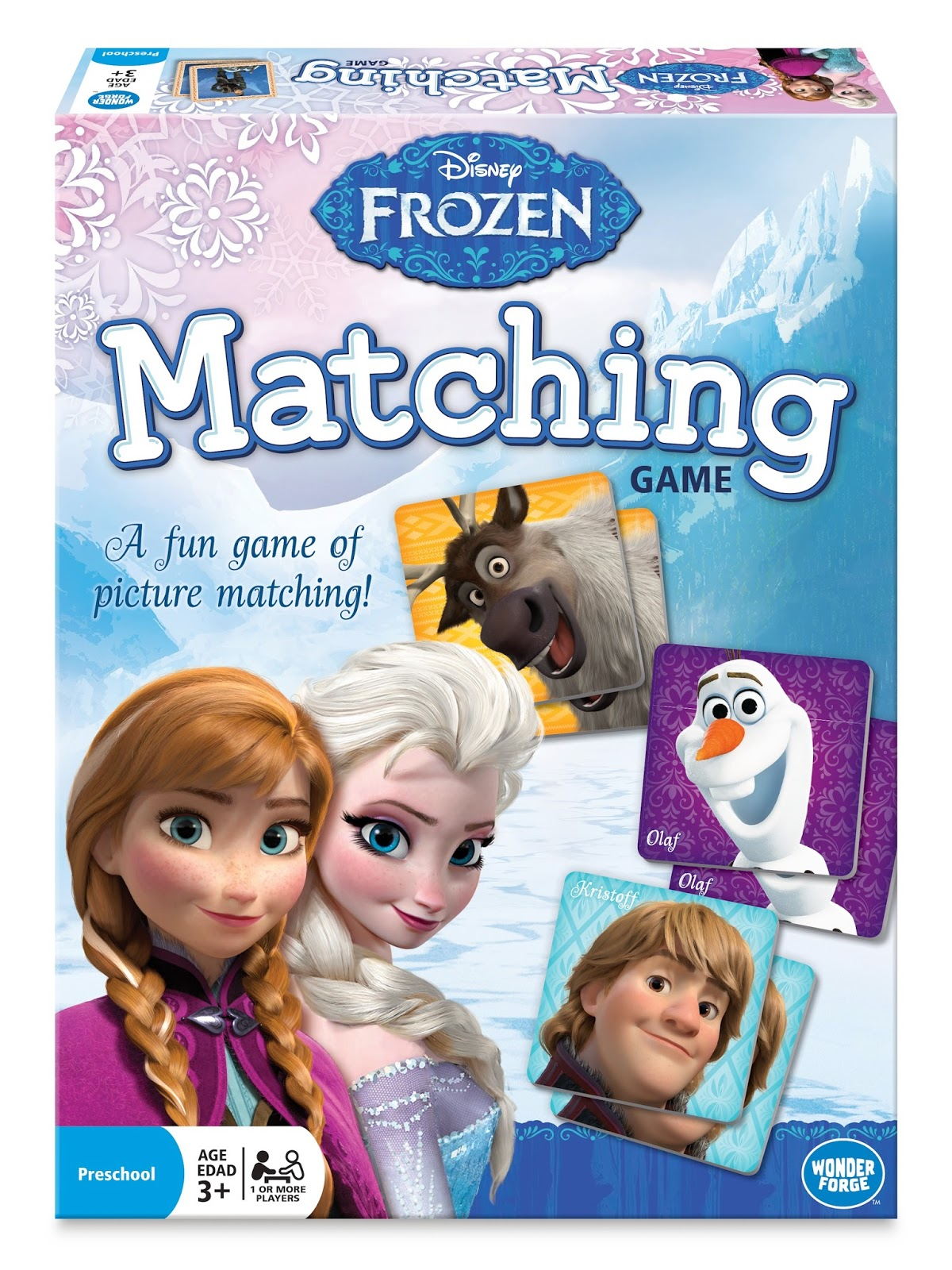 Disney Frozen Matching Game From Wonder Forge A Review