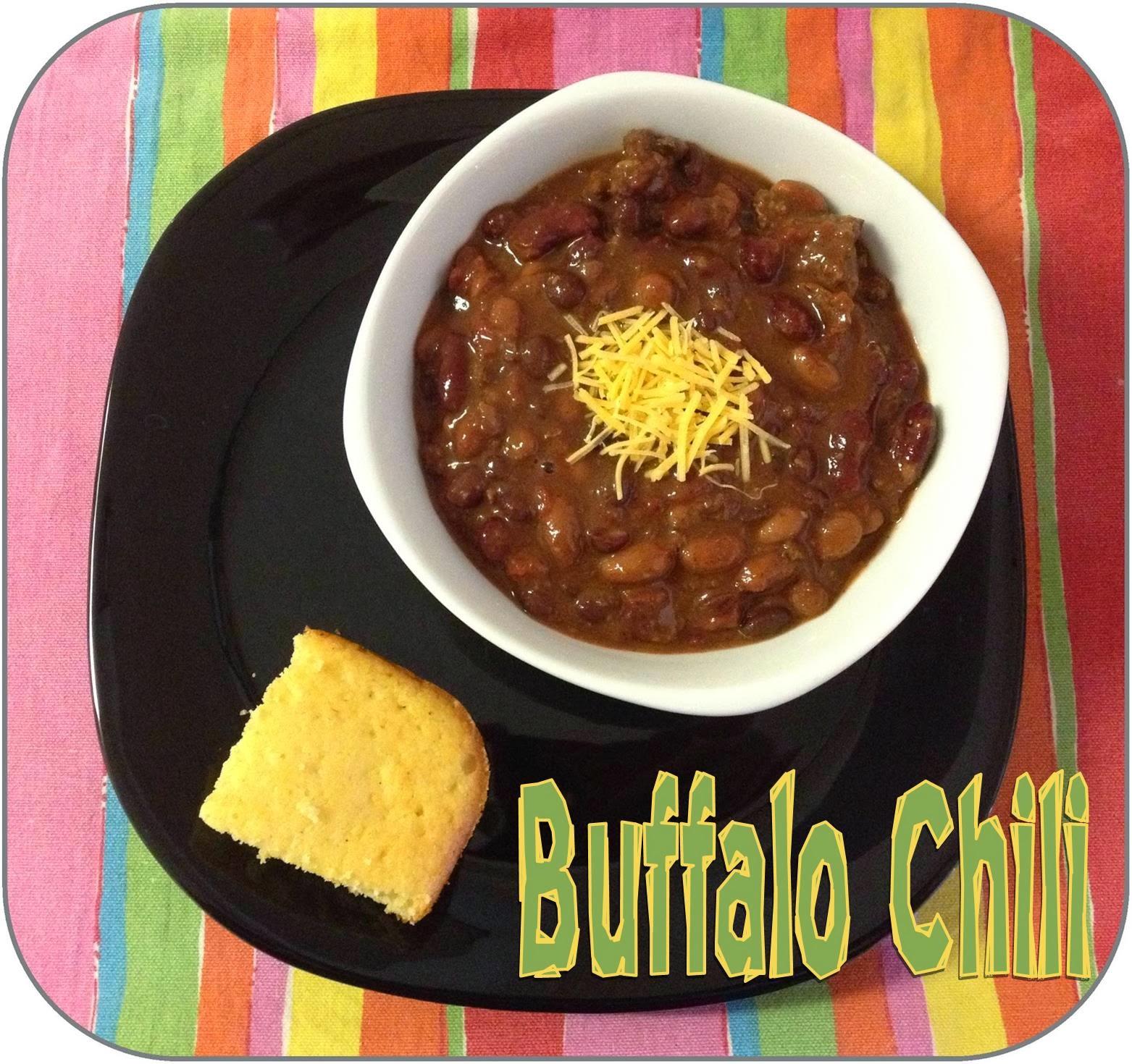 http://www.lifeinrandombits.com/2012/10/buffalo-chili-recipe.html