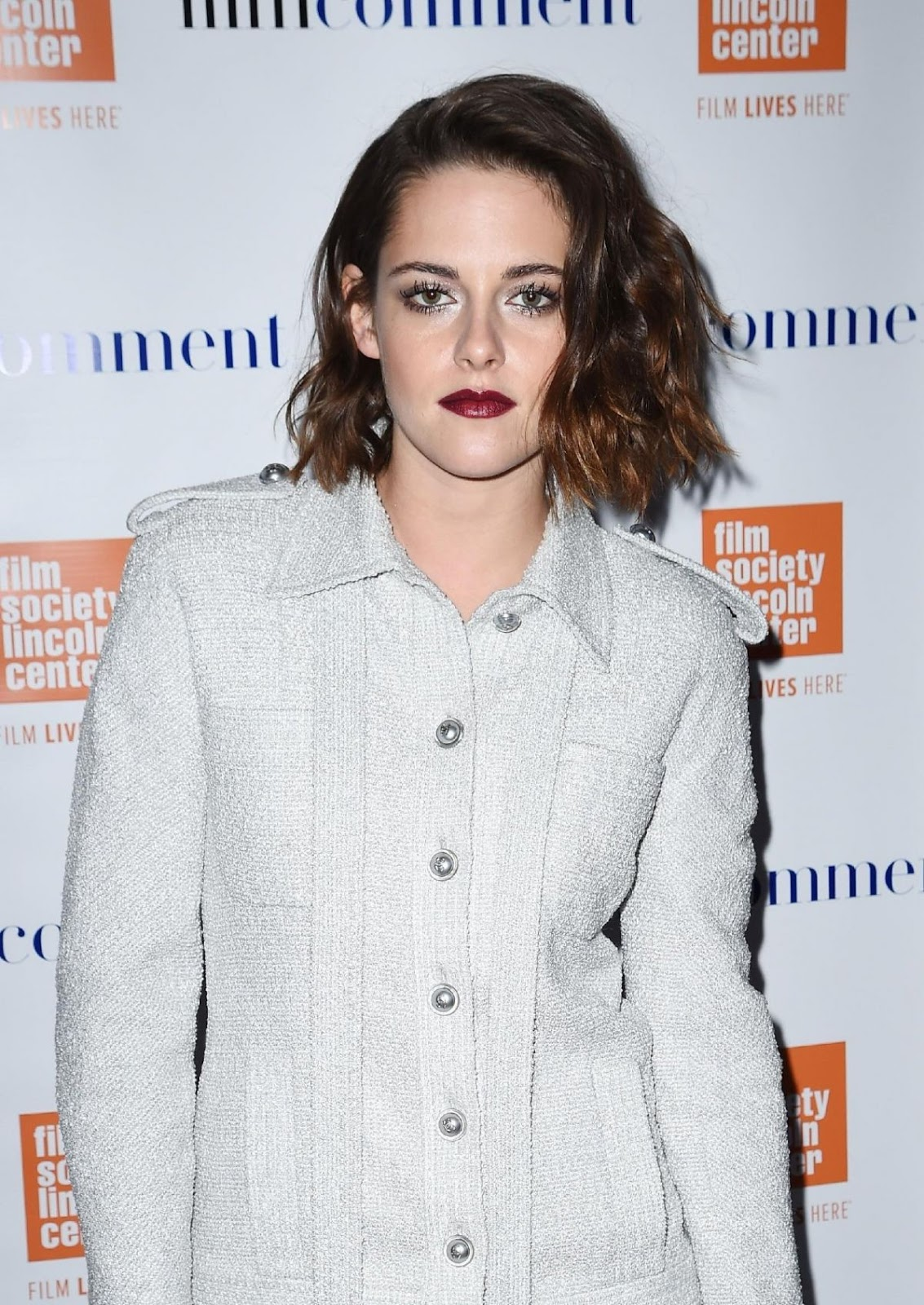 Kristen Stewart Leaves Hotel for 2016 Film Society in New York