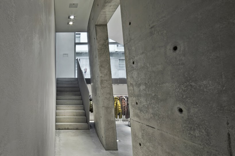 Duvetica Showroom, Milán, por Tadao Ando