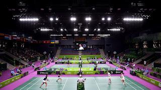 Juegos Europeos Bakú 2015 - Bádminton