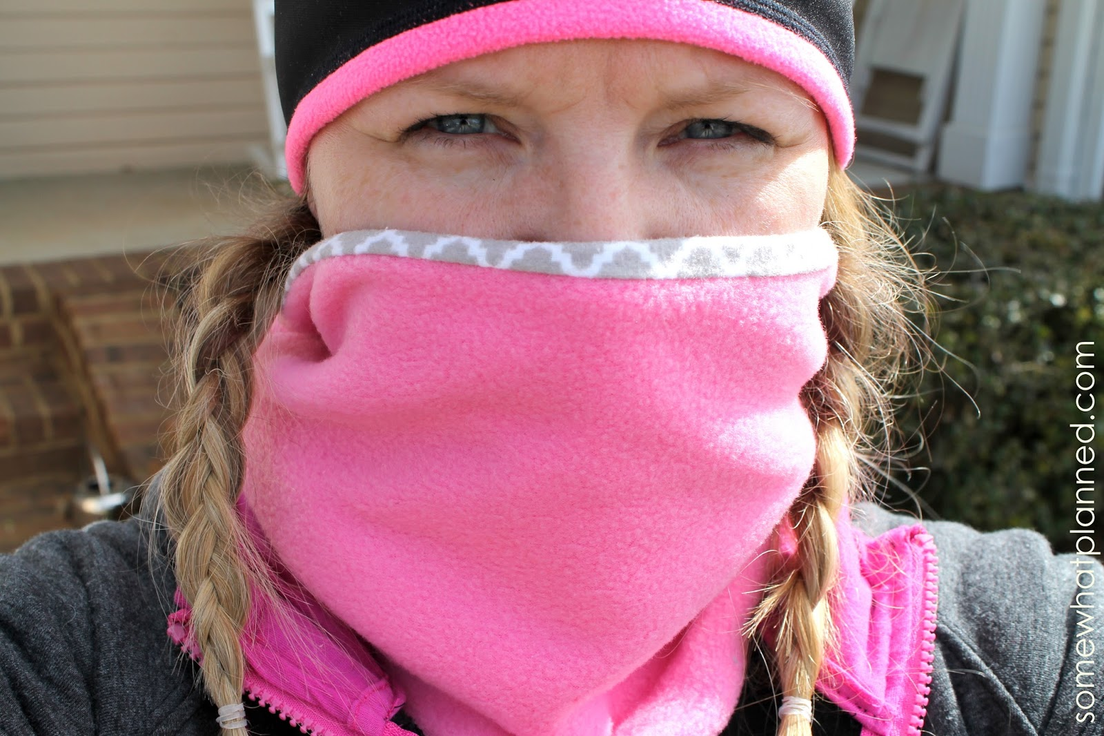 DIY: Make Your Own Neck Warmer (or Neck Gaiter) - Somewhat ...