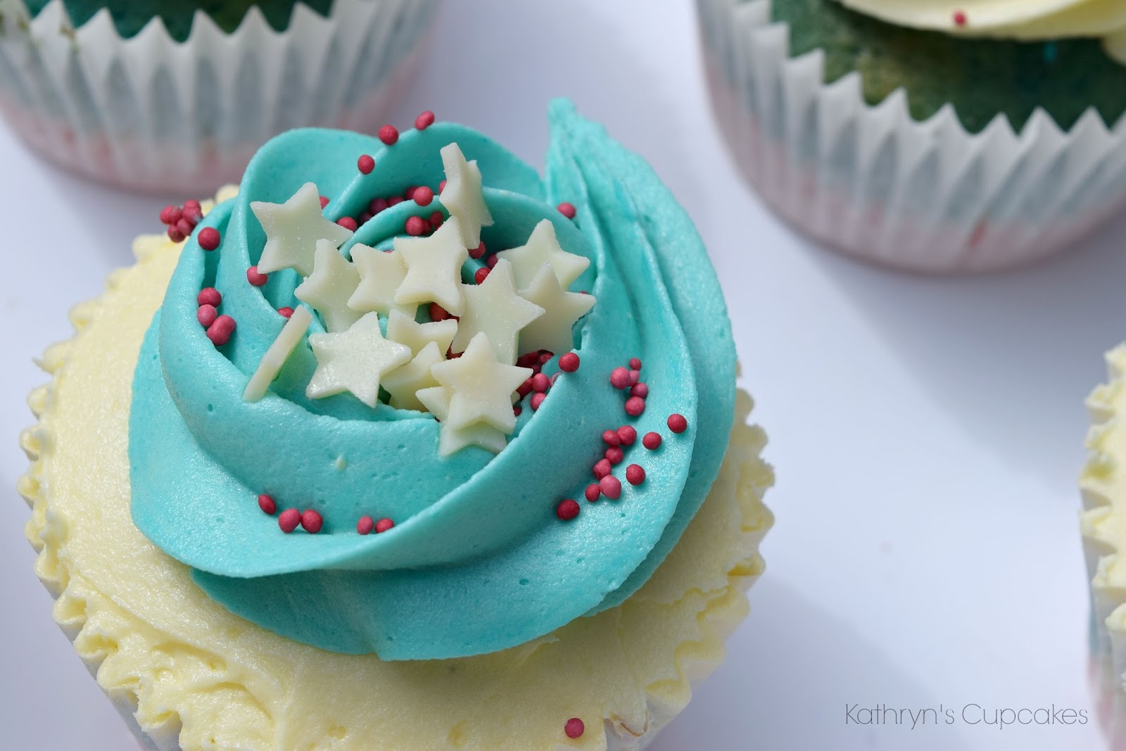 Cupcakes, America, Themed, Red, White, Blue,Stars, Vanilla, Buttercream, Ideas, Decorations
