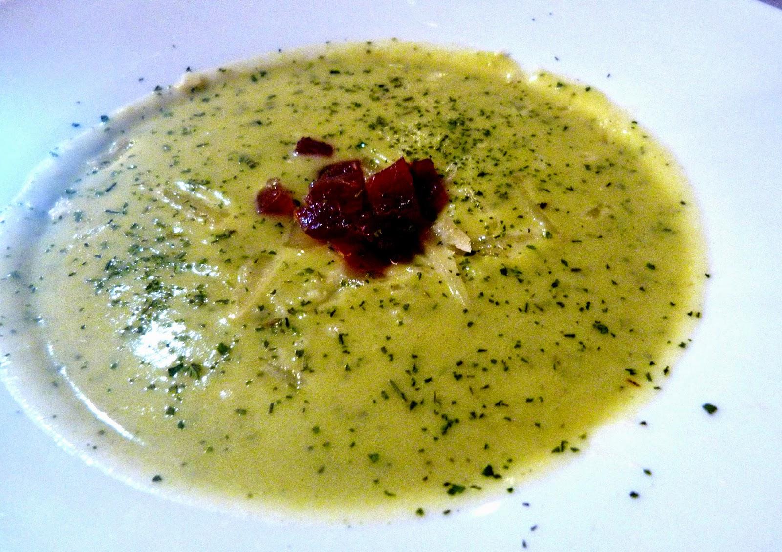 Puré-verdura-parmesano-jamón-tarragonain
