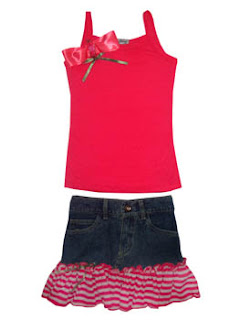 boutique style clothing, Girls Denim, Skirts