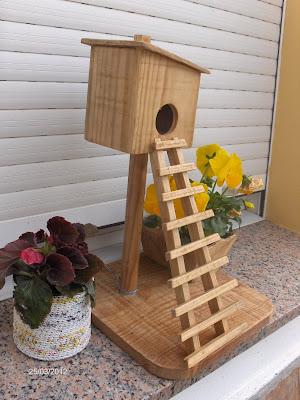 Aprendiz artesan a en madera para decorar con plantas - Maceteros de obra ...