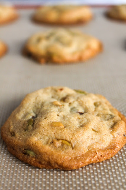 Chocolate Chip Pumpkin Seed Cookies | The Chef Next Door