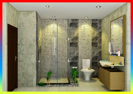 Desain Kamar Mandi Dalam Kamar Tidur, Kamar mandi mewah