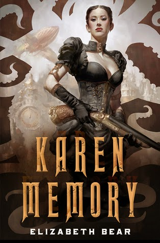 Karen Memory steampunk novel by Elizabeth Bear Giveaway