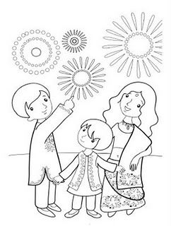 Diwali coloring pages for Free diwali coloring pages