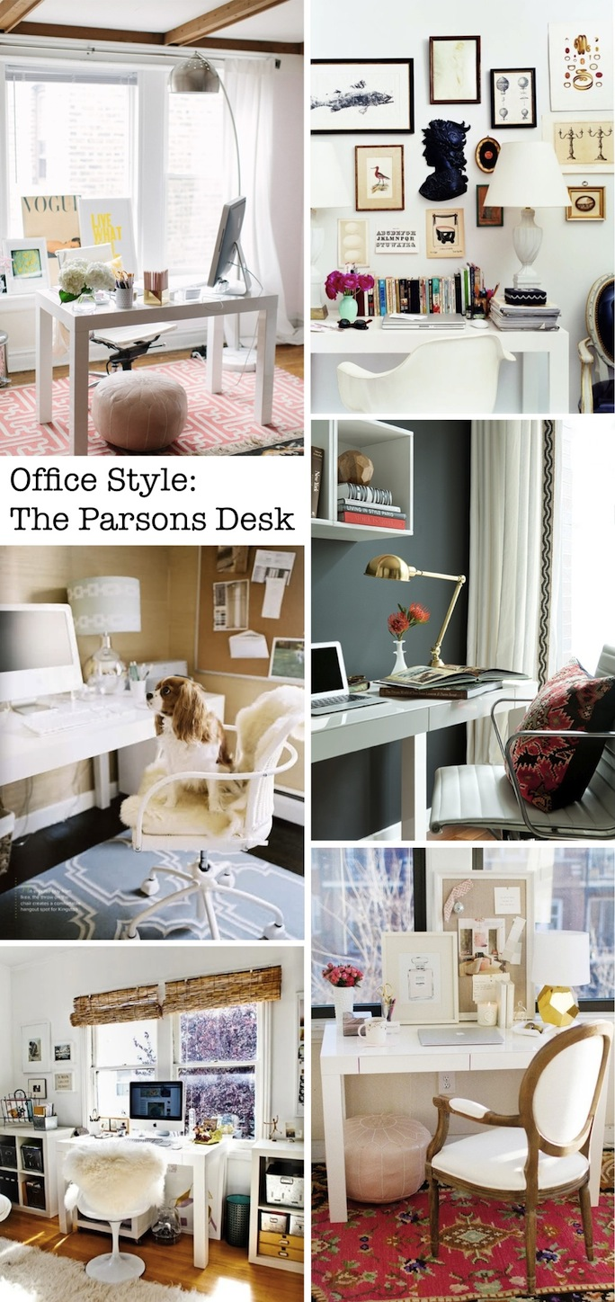 parsons desk, office design