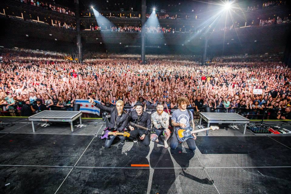 Fall Out Boy and Wiz Khalifa Burn up Tinley Park @ #