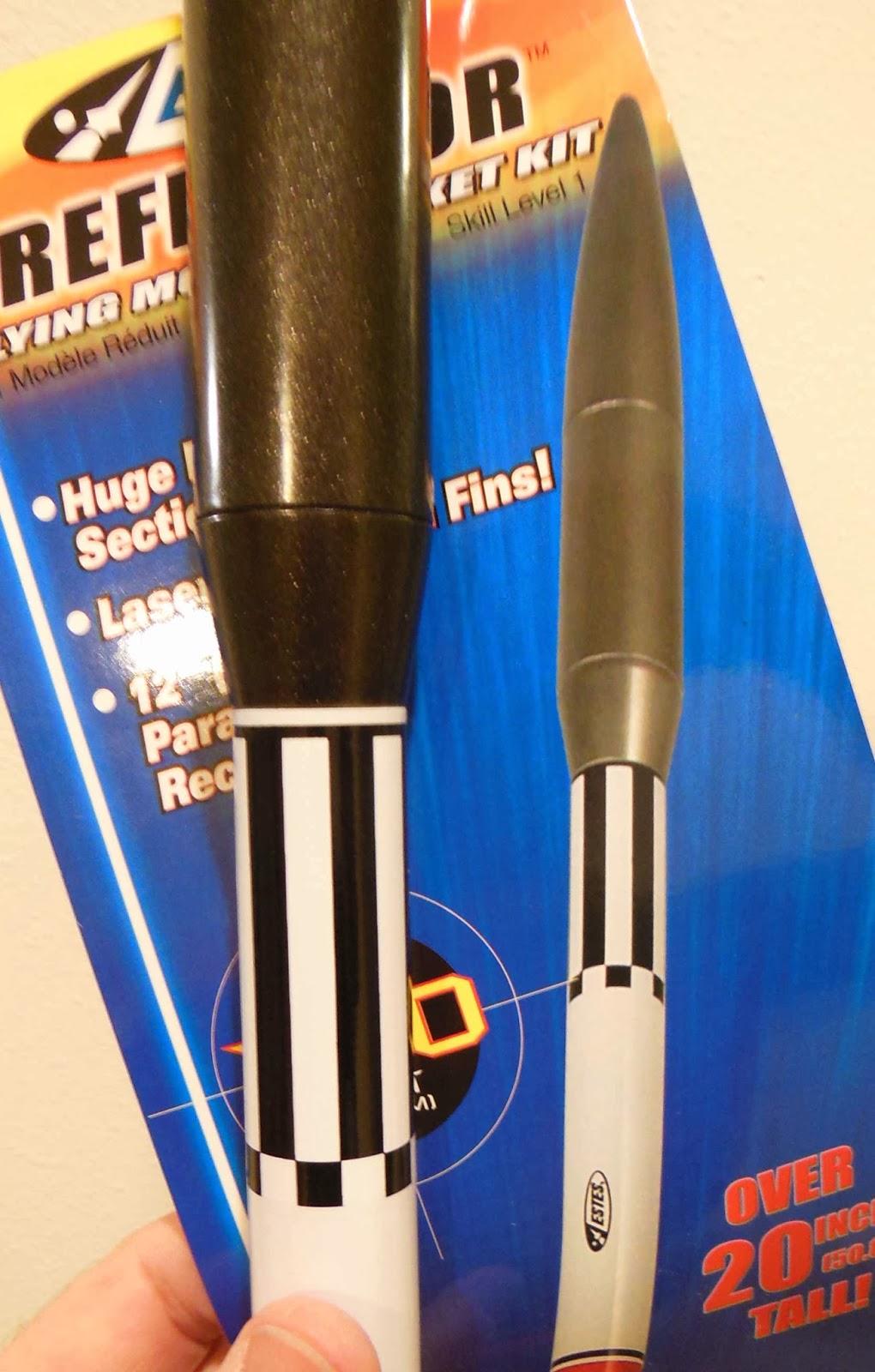 Estes Reflector Model Rocket Kit