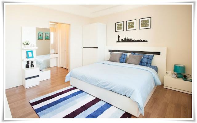 Phòng ngủ căn hộ Imperia An Phú 135m