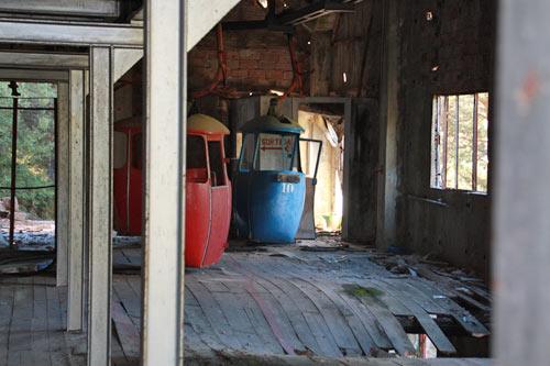 telecabina abandonado Engolasters