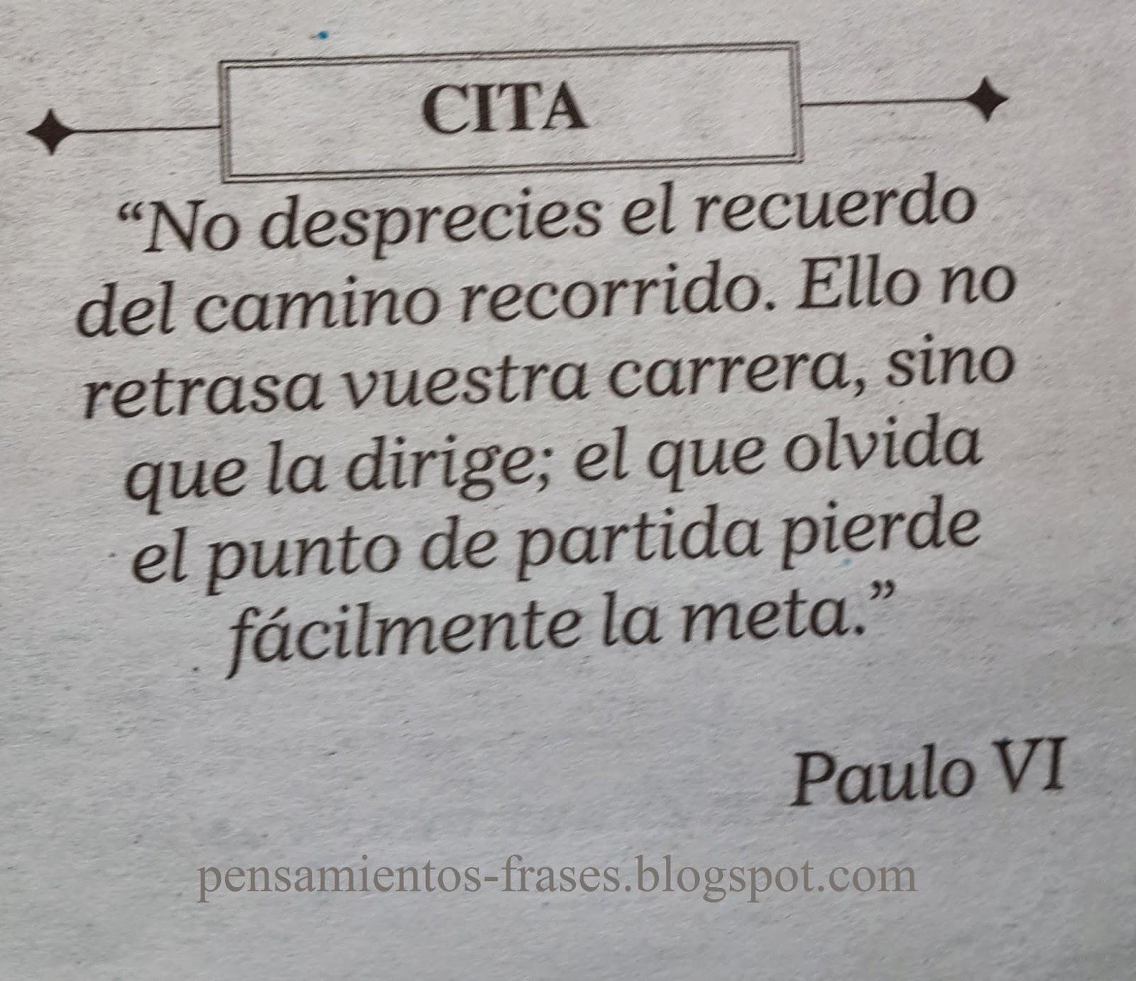 frases de Paulo VI