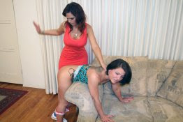 Spanked Sweeties (F/f): Casey spanking