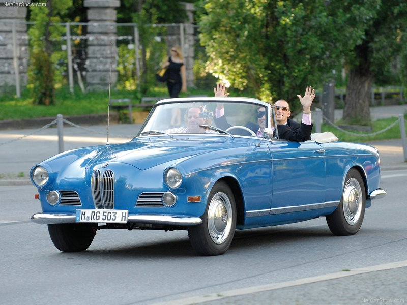 1956 - BMW 503 cabriolet Wallpapers for PC ~ BMW Automobiles