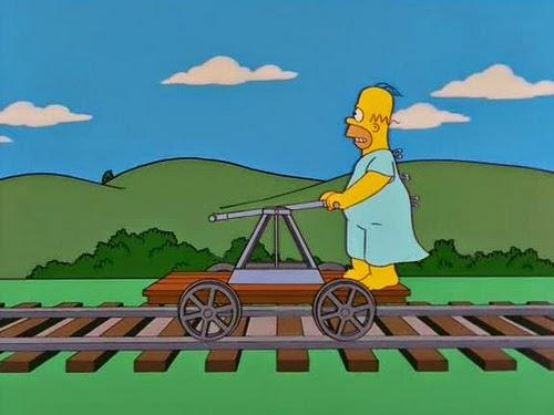 """""""Homero Simpson en: Problemas renales, Homero no se quiere operar"""
