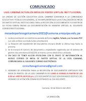 MESA DE PARTES VIRTUAL INSTITUCIONAL