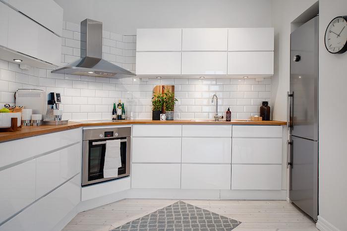 Una pizca de hogar muros de ladrillo visto up - Cocinas alicatadas ...
