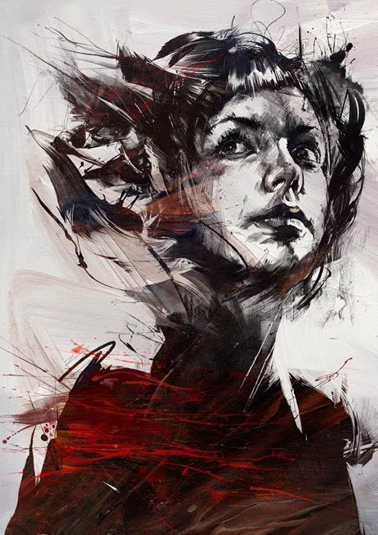 Russ Mills - pintura e ilustração