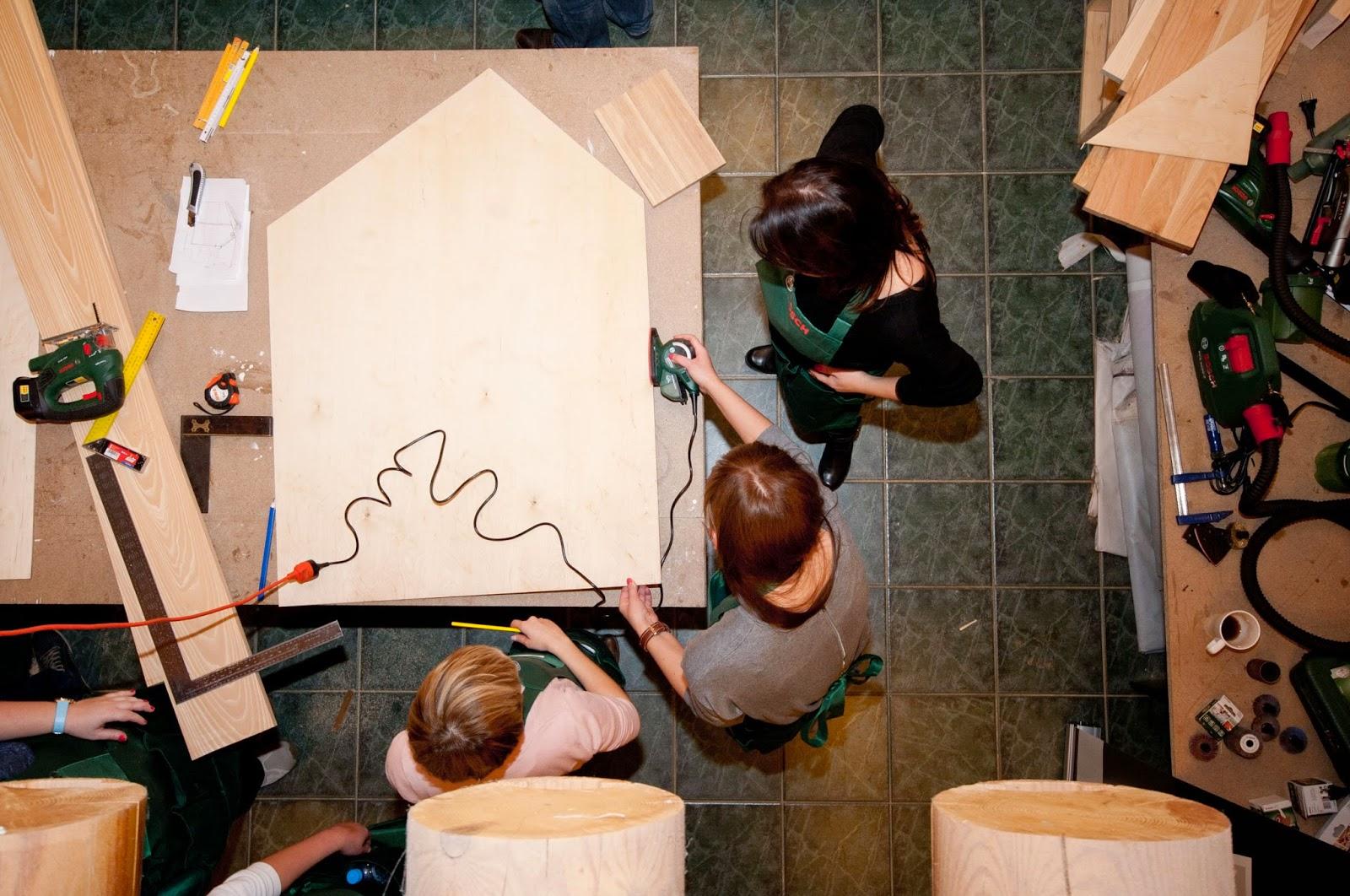 warsztaty Warszawa,blogerzy DIY,zrób to sam,blog wnętzrarski,Bosch,