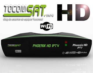 TOCOMSAT PHOENIX HD IPTV V2.006 - ATUALIZAÇÃO 17/07/2015