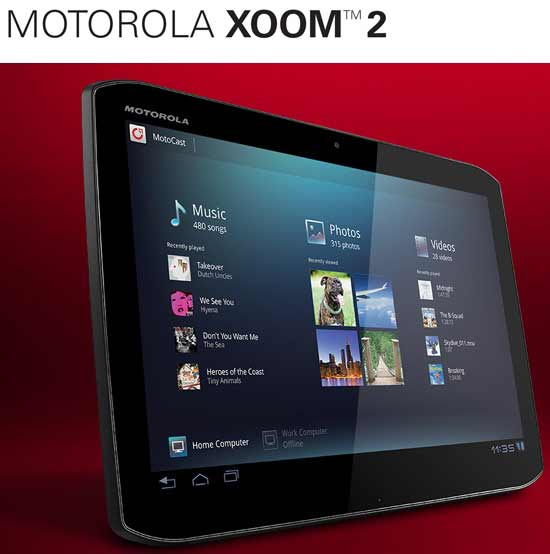 price of motorola xoom 2 tablet without any contract signup