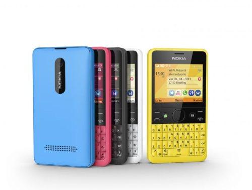 Nuovo telefonino con tastiera fisica full qwerty in vendita da Nokia con il modello Asha 210