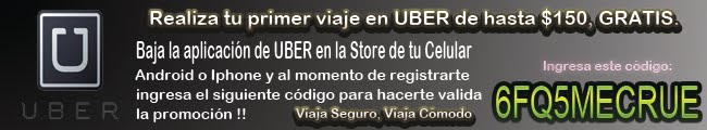 Viaja en Uber Gratis