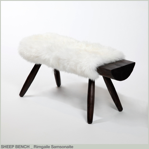 SHEEP BENCH - Rimgaile Samsonaite