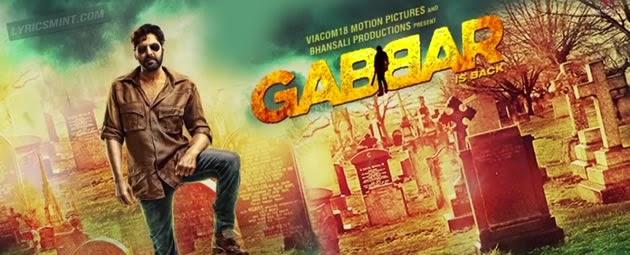 Gabbar is Back Songs Lyrics