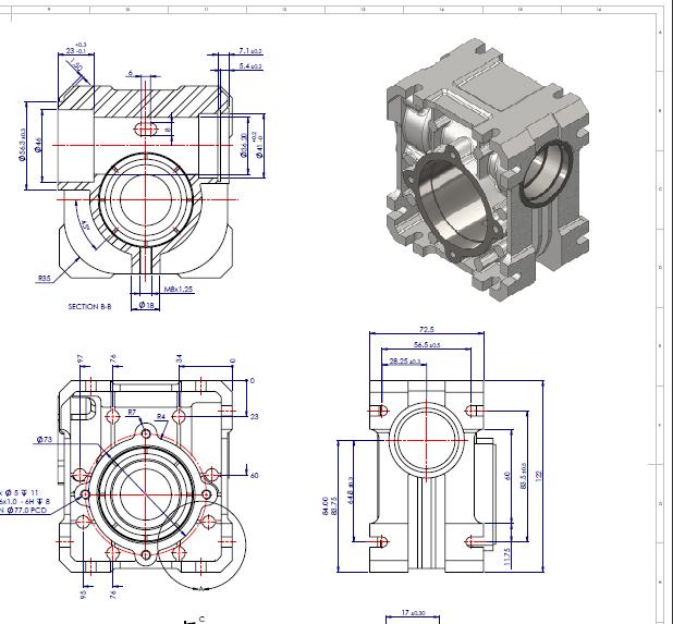 SolidWorks3D: Impressão de desenhos coloridos em PDF