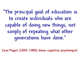 Piaget Quote