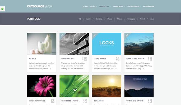 Outsource Wordpress Theme