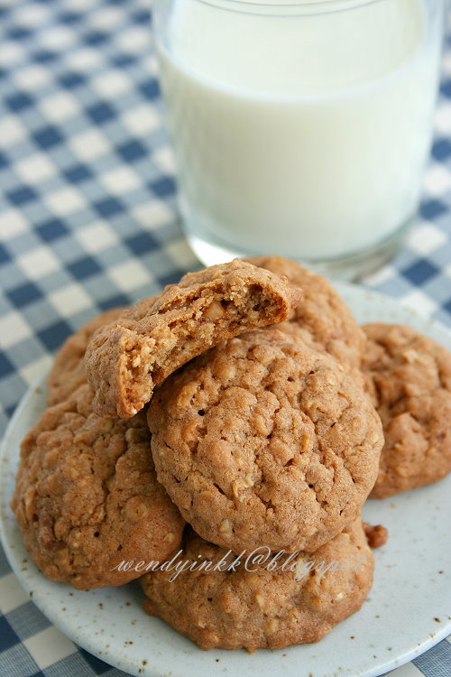 Table for 2.... or more: Toffee Oatmeal Cookies - Cookies #3