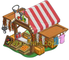 FarmVille Sally's Seed Shop High Resolution Picture