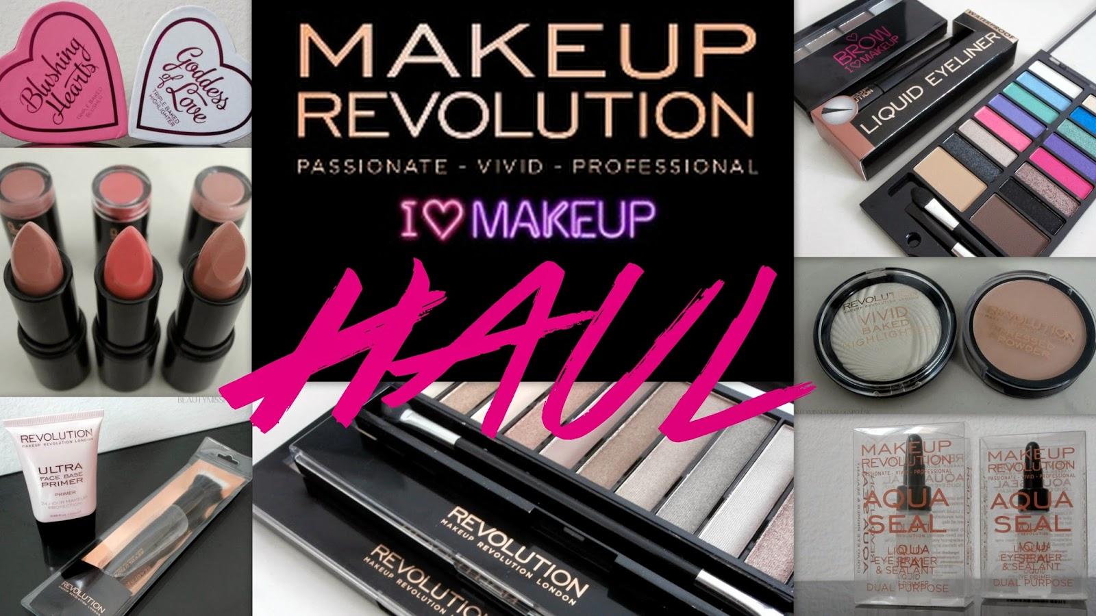 Double HAUL / NEW IN - Makeup Revolution